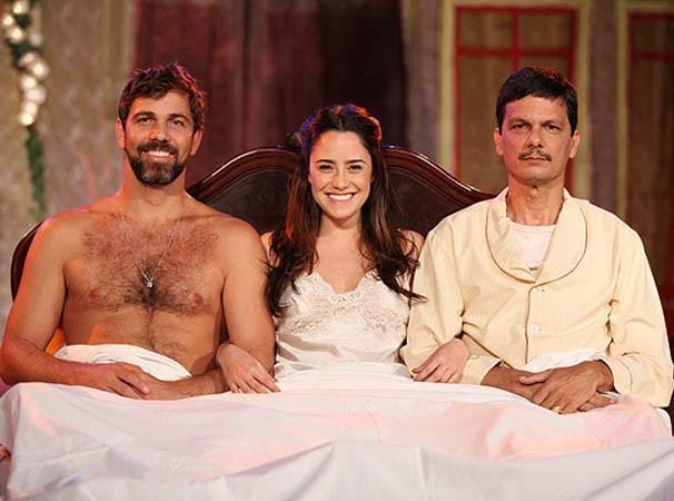 O trio interpreta no teatro os personagens da obra de Jorge Amado (Foto: Divulgação)