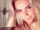 Veridiana Freitas posta selfie  e seguidor elogia: 'Maravilhosa'