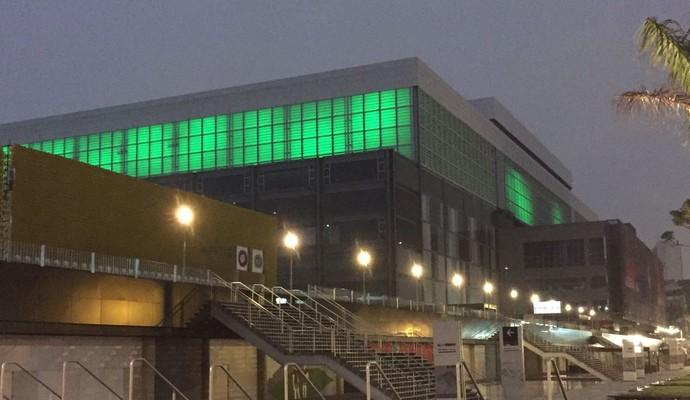 Arena da Baixada, Atlético-PR, verde (Foto: GloboEsporte.com)