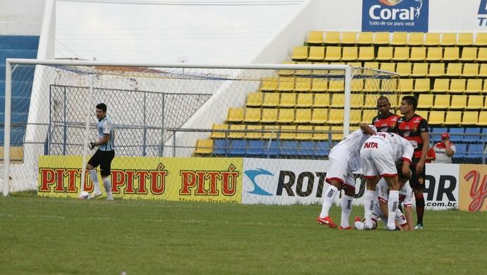 Guarani de Juazeiro x Guarany de Sobral Campeonato Cearense Romeirão (Foto: Cícero Valério/Agência Miséria de Comunicação)