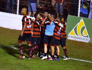 Lance de Oeste 3 x 1 Vila Nova - Série C (Foto: Anderson Oltremari/iblz.net)