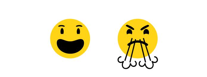 Emoji de comemoração ficou parecido com os do Google e Apple (Foto: Reprodução/Emojipedia)
