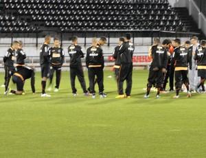 jogadores treino Atlético-MG (Foto: Leonardo Simonini)