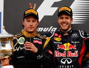 Vettel Raikkonen GP de Bahrein (Foto: Getty Images)