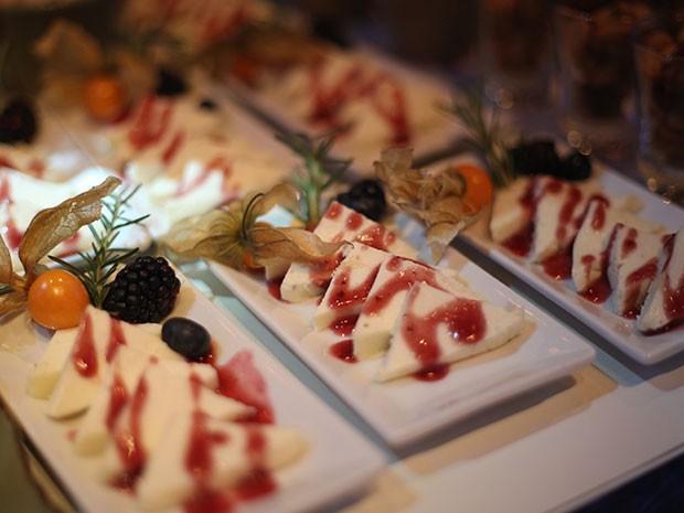 Convidados podem se deliciar com um cardápio de primeira (Foto: Carol Caminha/TV Globo)