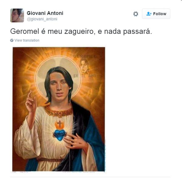 Grêmio Pedro Geromel Memes (Foto: Reprodução)