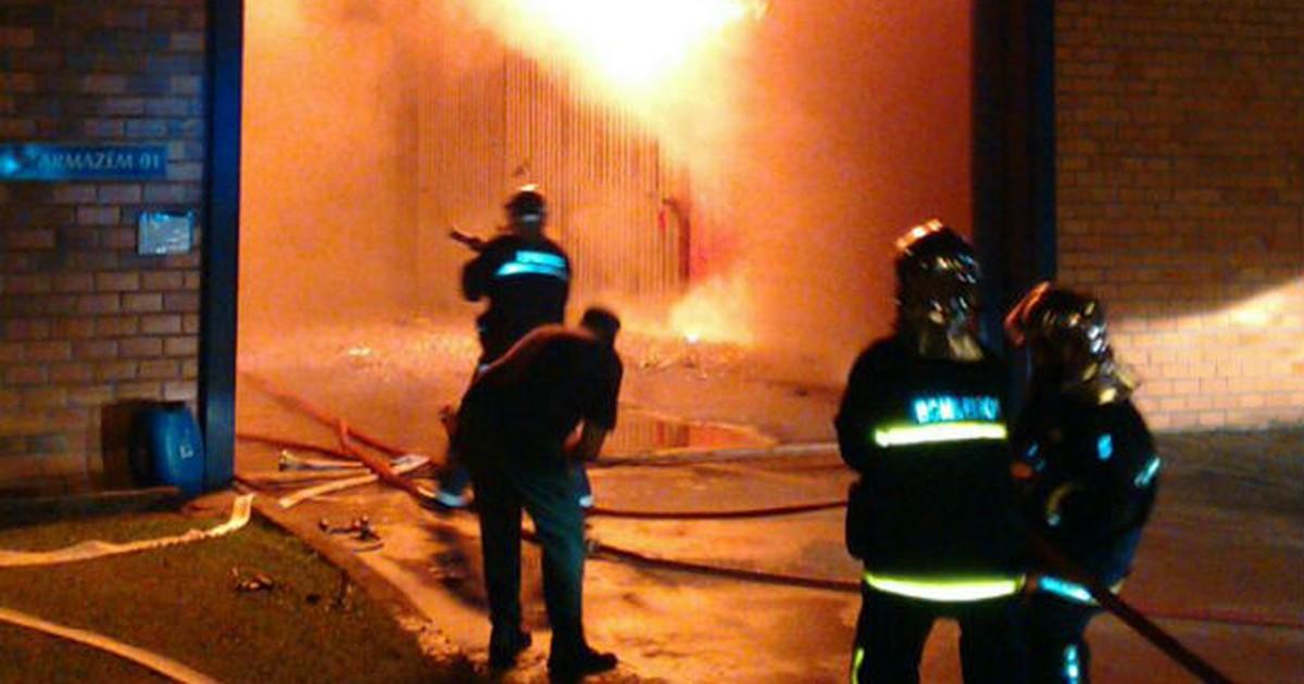 Combate ao incêndio em fábrica de erva-mate no Paraná termina ... - Globo.com