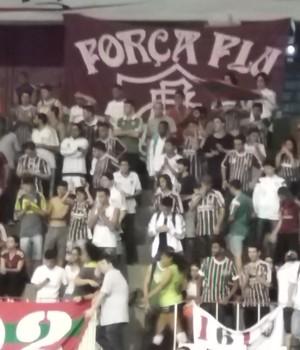 Rio de Janeiro Fluminense vôlei (Foto: João Gabriel Rodrigues)