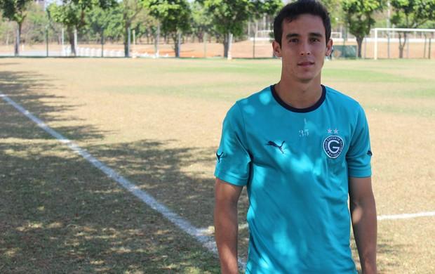 Liniker - Goiás sub-20 (Foto: Fernando Vasconcelos / Globoesporte.com)