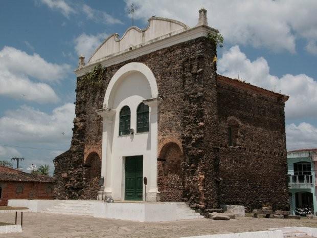 Igreja de Pedra é um dos pontos turísiticos de Vigia (Foto: Elivaldo Pamplona/ O Liberal)