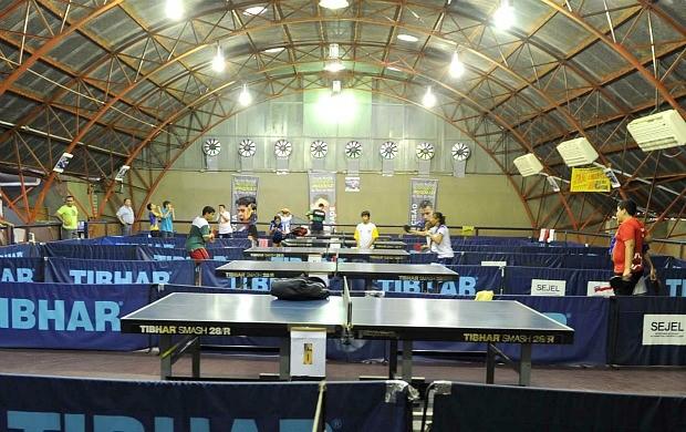 Vila Olímpica de Manaus, centro de tênis de mesa (Foto: Roberto Carlos/Agecom)