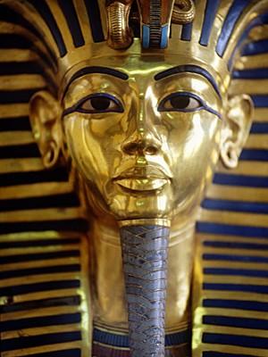 Máscara de ouro do faraó Tutancâmon no Cairo, Egito (Foto: Guido Alberto Rossi/TIPS/Photononstop/Arquivo AFP)