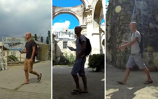 Francês gravou diversas cenas ao redor da Guatemala até 'chegar' em casa (Foto: Reprodução/YouTube/Nicolas Foubert)