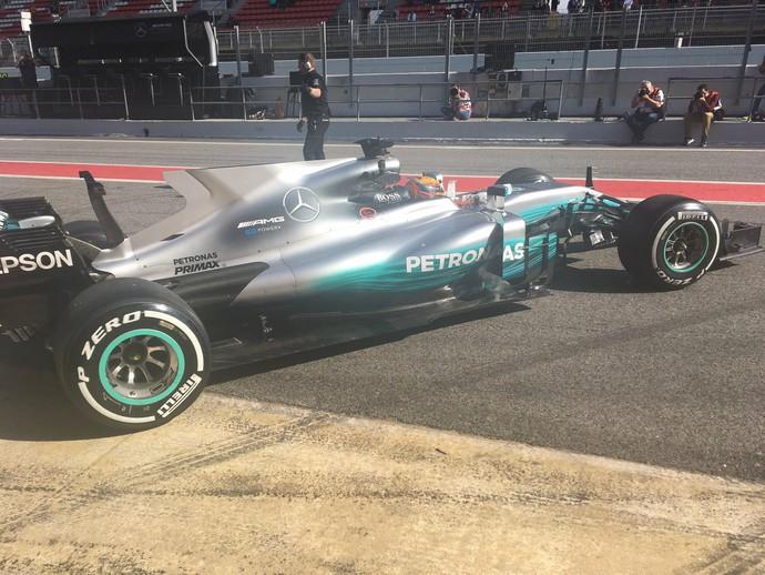 Mercedes W08 Hamilton (Foto: Reprodução)