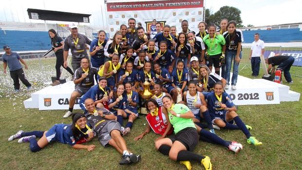 São José campeão Paulista Feminino título (Foto: Antônio Basílio/ PMSJC)