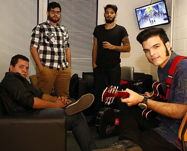 Versalle bastidores audição 5 (Foto: Raphael Dias/Gshow)