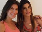 Joana Balaguer posta fotos com filho, mas esconde o rostinho