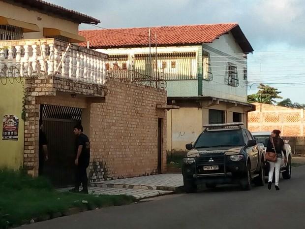 Oito mandados judiciais foram cumpridos em São Luís (MA) (Foto: Danilo Quixaba/Mirante AM)