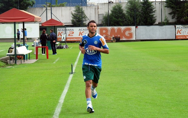 Charles treino Palmeiras (Foto: Marcelo Prado)