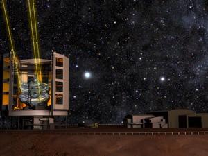 Adesão ao consórcio do GMT custa US$ 50 milhões. (Foto: Giant Magellan Telescope/Divulgação)