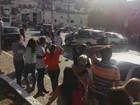 Polícia tenta conter confusão no Centro de Araçariguama