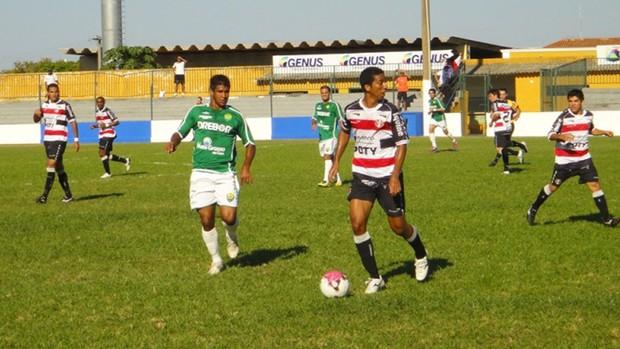 Cuiabá e Santa Cruz ficaram no 0 a 0 (Foto: Róbson Boamorte/Asseoria Cuiabá Esporte Clube)
