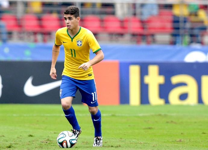 Oscar jogo Brasil x Sérvia amistoso (Foto: Wander Roberto / VIPCOMM)