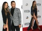 Famosas apostam em fendas e decotes no American Music Awards