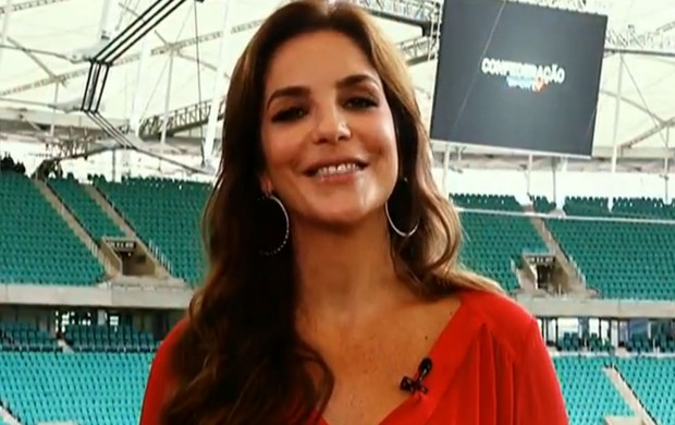 Ivete Sangalo, Fonte Nova (Foto: Reprodução/SporTV)
