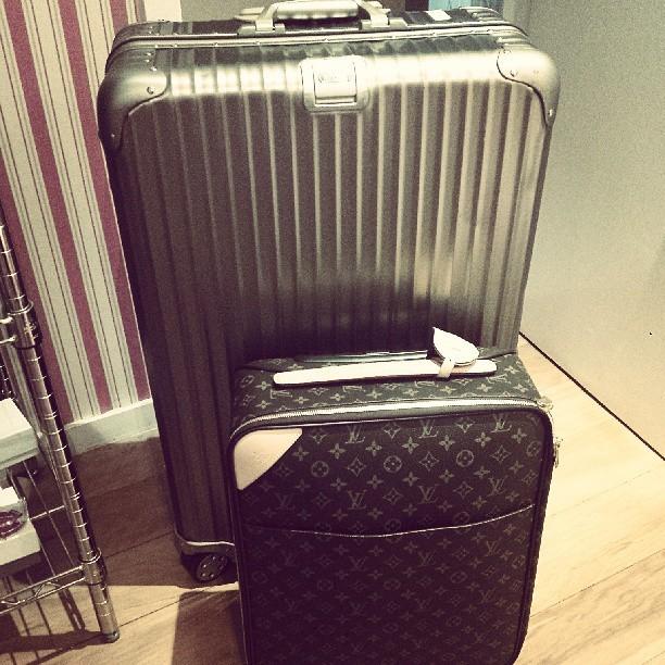 Mariana Rios postou malas de viagem (Foto: Reprodução/Instagram)