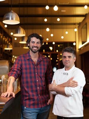 Marcos e Daniel, do Oca Restaurante (Foto: Divulgação/Oca Restaurante)