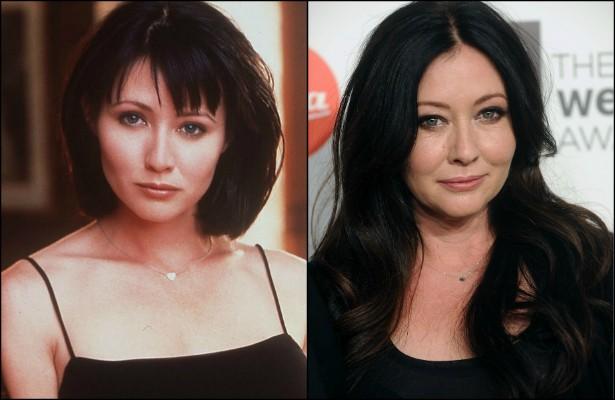 Shannen Doherty, hoje com 43 anos, fez bons trabalhos em 'Barrados no Baile' (1990–2000) e 'Charmed' (1998–2006). Mas e depois disso? A atriz praticamente caiu no esquecimento do grande público. (Foto: Getty Images)