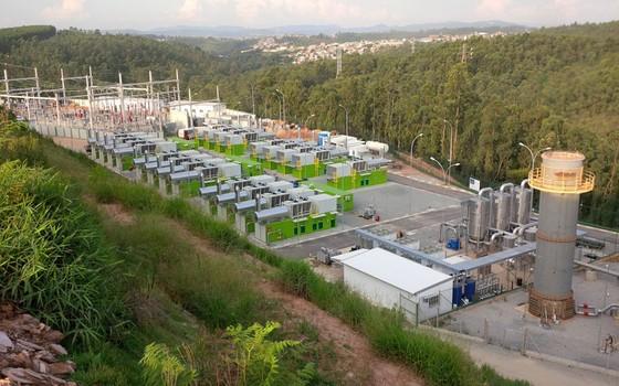 Projeto de captura de biogás em aterro em Minas do Leão, Rio Grande do Sul (Foto: Divulgação)