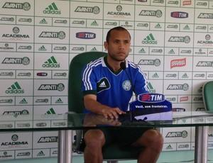 Ananias entrevista Palmeiras (Foto: Felipe Zito)
