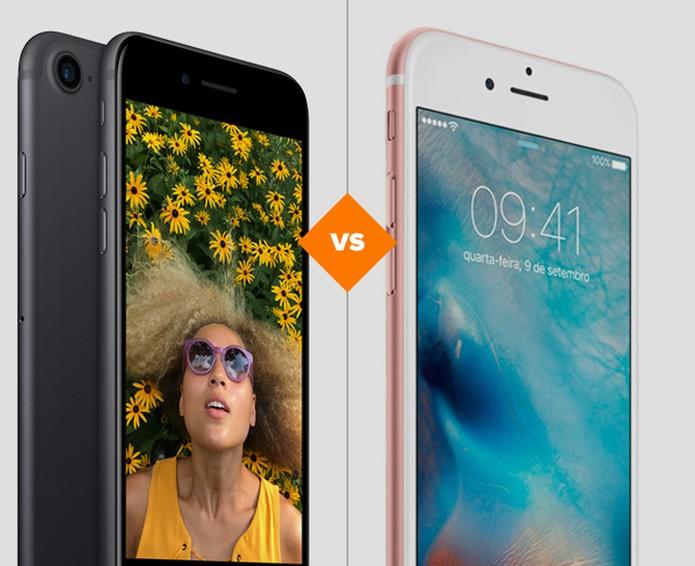 912022551 iPhone 7 ou iPhone S  veja qual celular da Apple tem ficha técnica mais  vantajosa
