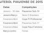 Com três competições de base, FFP divulga calendário do futebol 2015