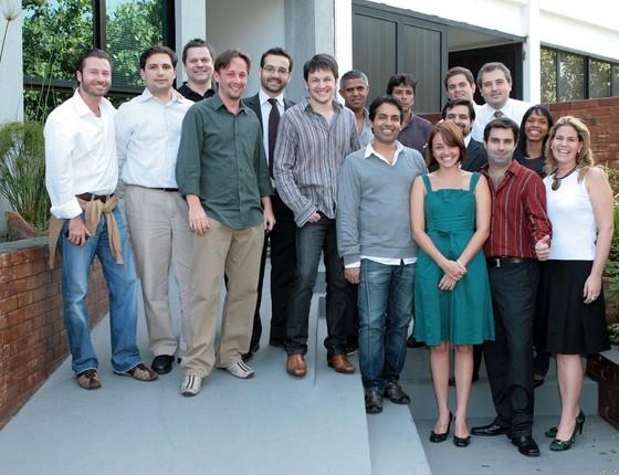 Com sede na Barra da Tijuca e um escritório em Nova York, a empresa de Steve Vachani chegou a empregar 150 funcionários (Foto: Arquivo pessoal)