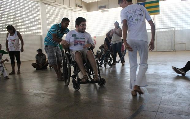 Capoeira no Ceir (Foto: Wenner Tito)