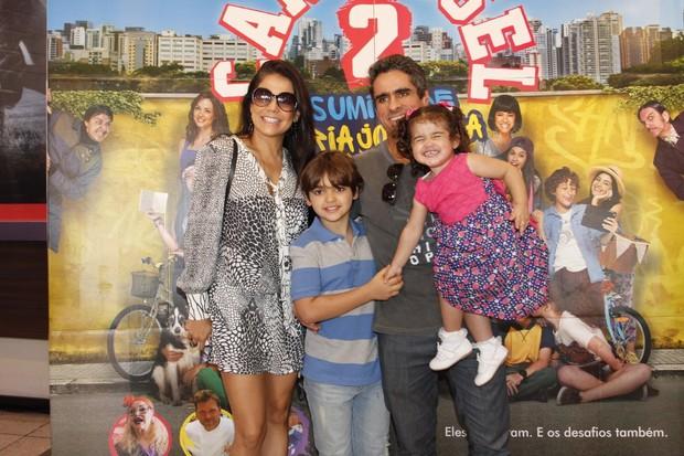 Nivea Stellman em estreia do filme Carrosel (Foto: Marcos Ferreira /Brazil News)