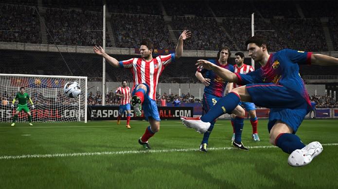 f25f8a2001426 Todas as novidades de Fifa 14 foram exclusivas para o PlayStation 4 e Xbox  One (