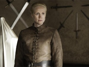 Gwendoline Christie em 'Game of thrones' (Foto: Divulgação)