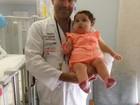 'É grave', diz médico de Sofia sobre vírus que está no organismo dela