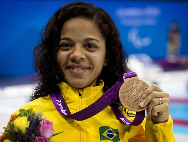 Joana Silva traz medalha de bronze para o Rio Grande do Norte (Foto: Buda Mendes/CPB/Divulgação)
