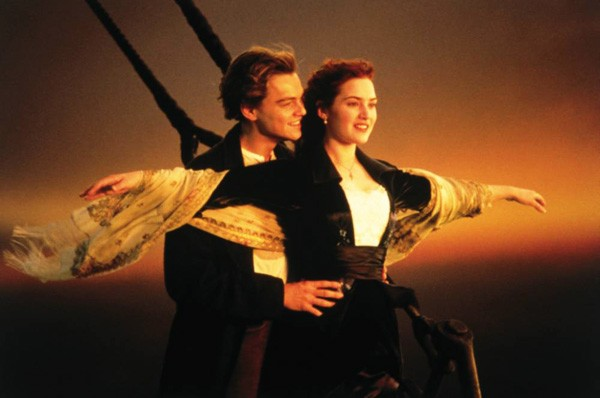 Cena do filme 'Titanic' (1997) (Foto: Divulgação)