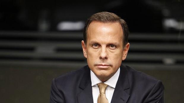 O candidato do PSDB à prefeitura de São Paulo, João Doria (Foto: Edu Moraes/Rede Globo)