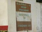 Por superlotação, Presídio Regional de Joaçaba é interditado parcialmente