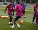 Messi treina após cirurgia e pode enfrentar o Celta no próximo domingo