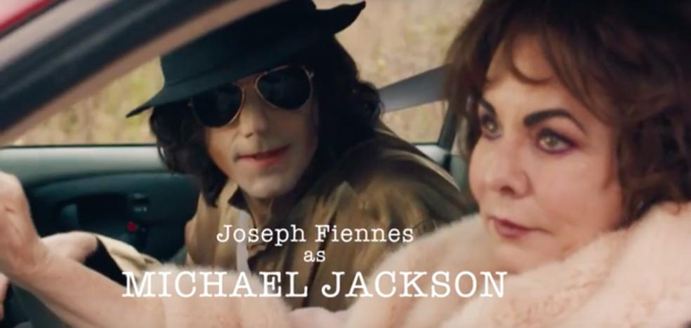 Joseph Fiennes como Michael Jackson (Foto: Divulgação)