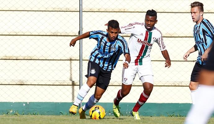 Fluminense vence Grêmio por 3 a 2 no Brasileirão Sub-20 (Foto: Rodrigo Fatturi / Grêmio, DVG)
