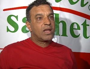 Márcio Ribeiro - técnico do América-SP (Foto: Reprodução / TV Tem)